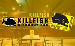 Меню KillFish Discount Bar