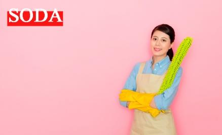 Soda: уборка дома или офиса