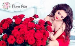 Букеты роз от компании Flower Piter