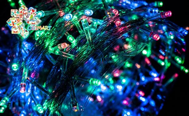 Скидка на Светодиодные многоцветные ленты Magic Light, светодиодные уличные гирлянды и гирлянды для помещений от интернет-магазина Ozimart. Скидка до 65%