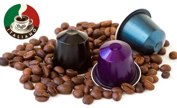 Скидка на Капсулы для кофемашин Nespresso и зерновой кофе различных вкусов от интернет-магазина Сaffe Italiano. Скидка до 61%