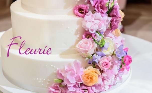 Скидка на Заказ торта по собственному эскизу или из каталога от кондитерского дома Fleurie. Скидка 50%