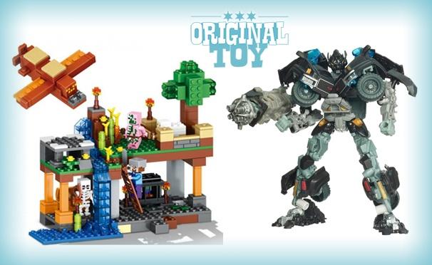 Игрушки в интернет-магазине игрушек OriginalToy. Трансформеры, принцы, световые мечи, маскарадный костюм, игрушки и конструкторы Star Wars, Майнкрафт, Ниндзя Го и не только. Скидка 35%