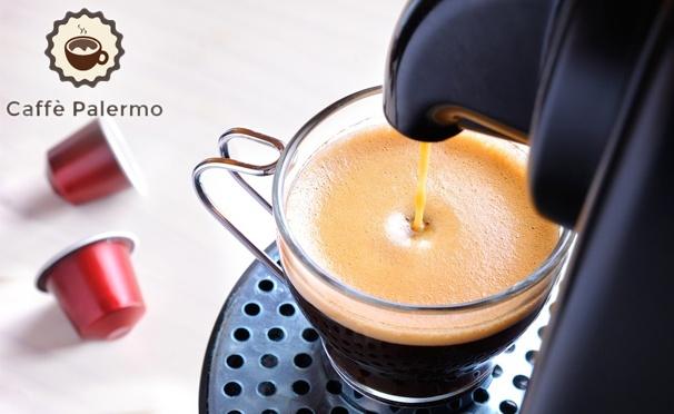 Скидка на От 60 до 1000 капсул Classic Collection или Aroma Collection различных вкусов для кофемашин Nespresso от интернет-магазина Сaffe Palermo. Скидка до 62%