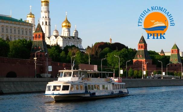 Скидка на Прогулка на теплоходе с обедом от «Русской пароходной компании». Отправление каждые 20 минут! Скидка до 51%