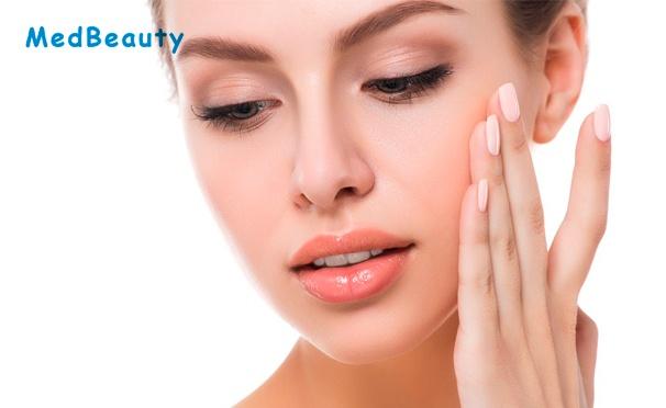 RF-лифтинг, LPG-массаж лица, шеи и декольте, Elos- или фотоомоложение лица в центре эстетической косметологии MedBeauty: 3 или 5 сеансов. Скидка до 91%