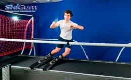 Занятия на горнолыжных тренажерах